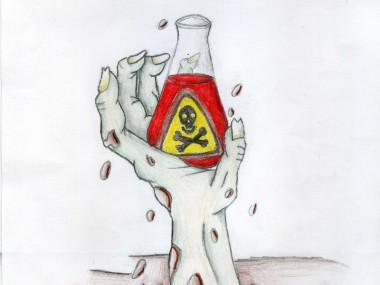 El profesor químico y los zombis - CARTEL_2C_3a982355f4b31fc9bef711c80eaa391e